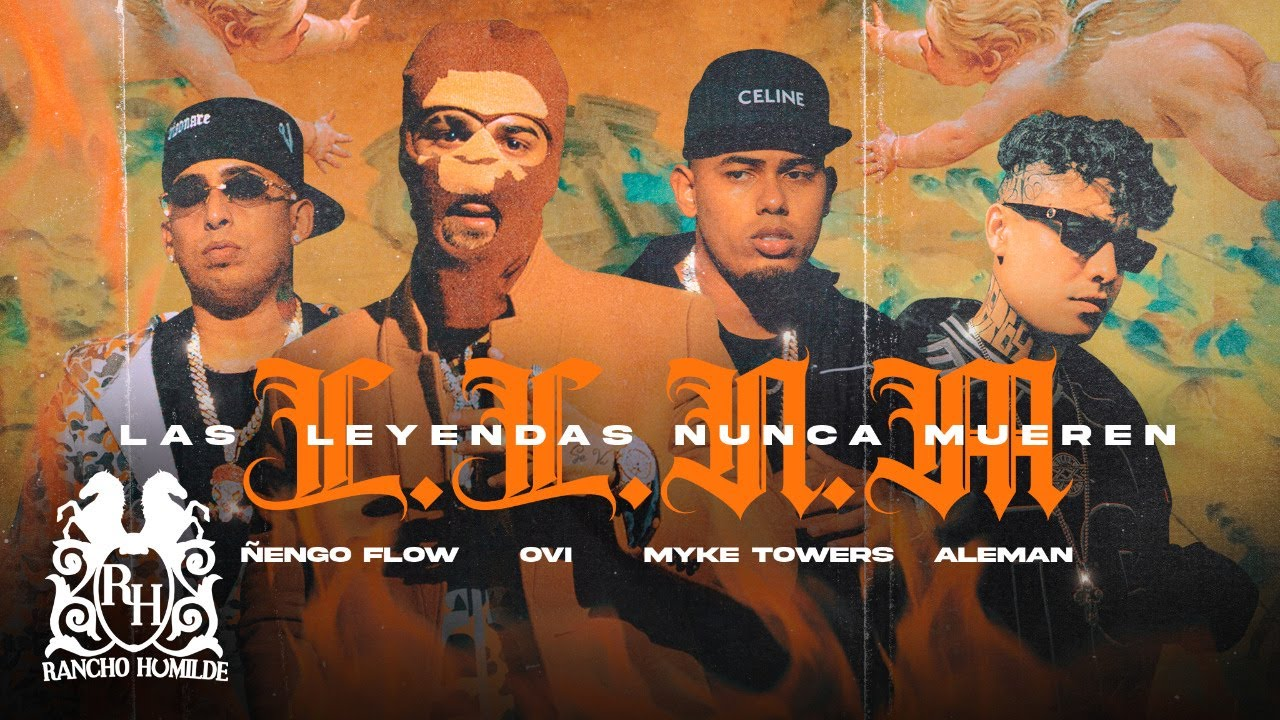 Download Ovi x Myke Towers x Ñengo Flow x Aleman - Las Leyendas Nunca Mueren [Official Video]