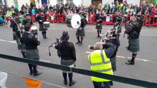 St Patrick's Battalion Pipes & Drums Mexico City