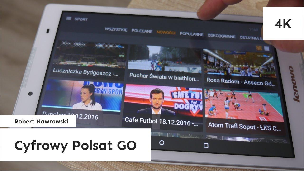 Cyfrowy Polsat GO Telewizja i VOD z dowolnego miejsca | Robert Nawrowski