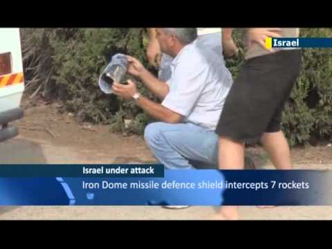 Israel vows to respond to latest rocket barrage