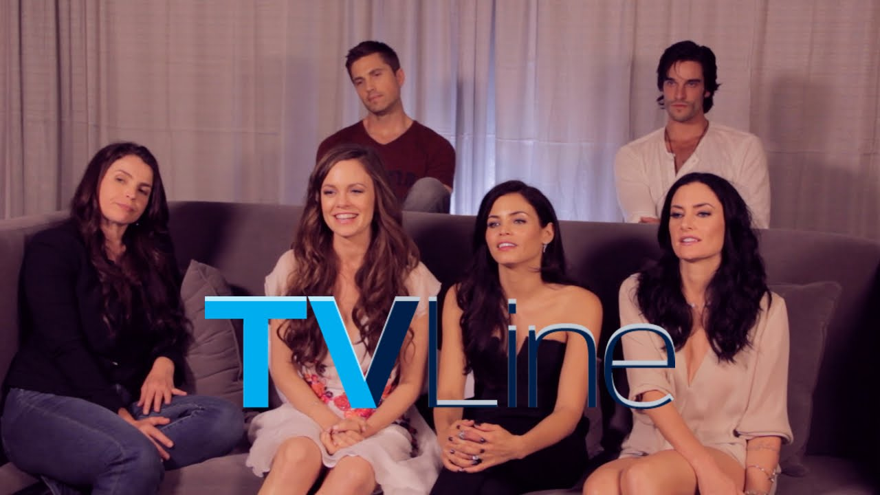 Witches Of East End Interview At Comic Con 2014 Tvline Youtube