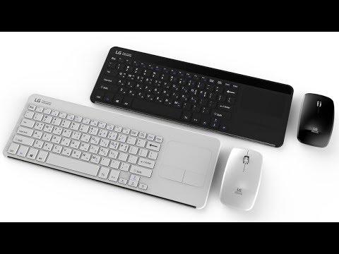 LG MKS-MARK1 무선 키보드 무선 마우스 셋트