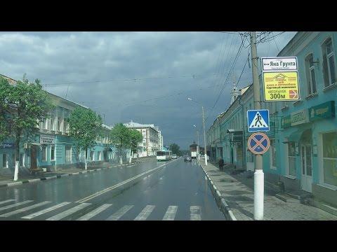 . Коломна. Экскурсия по городу на автобусе (Московская область)