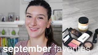 September Favorites | Clean, Green Beauty