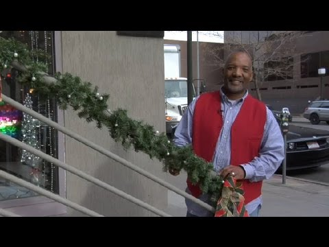 christmas decoration ideas for porch railings christmas decorating youtube - How To Decorate Outdoor Stairs For Christmas