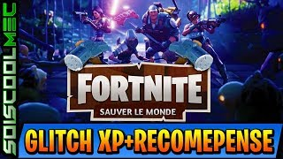 GLITCH XP - UNLIMITED REWARD WITHOUT DOING ANYTHING! EASY AND FAST! WORLD SAUVER FORTNITE!