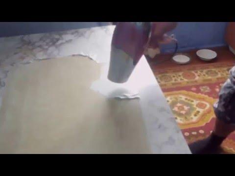 Как быстро снять самоклеющуюся пленку с мебели