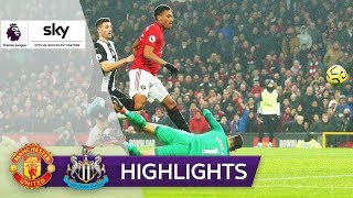 Newcastle verteilt Geschenke, United siegt | Manchester United - Newcastle United 4:1 | Highlights