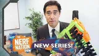 The Zombie Office w Zach King The NERF Nation Show Episode 11