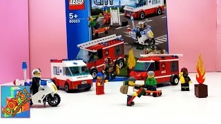 Download Video Lego City  Pemadam kebakaran, polisi, ambulans – Lego City Starter set 60023 MP3 3GP MP4