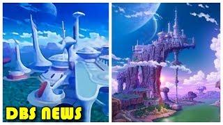 Vegeta Palace, Vamba Planet and Bulma's Vacation Home | Dragon Ball Super Broly Movie