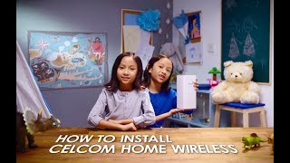 Want to know how to install your Celcom Home Wireless?