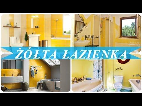 żółta łazienka Youtube