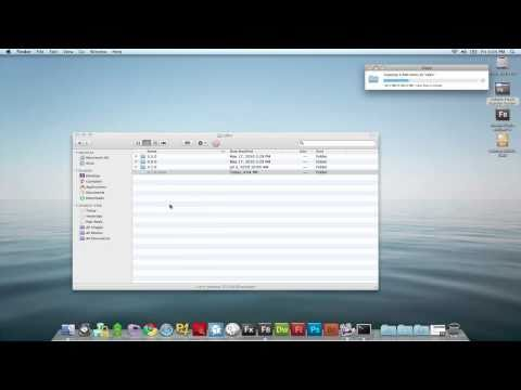 Adobe AIR SDK Mac Overlay Tutorial