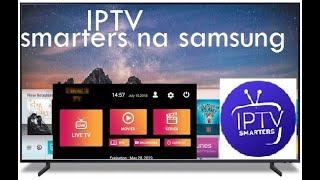 Instalando outro aplicativo Iptv na samsung 7 series nu7100