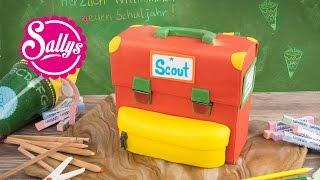 Einschulungstorte / Schulranzen Motivtorte & Gewinnspiel