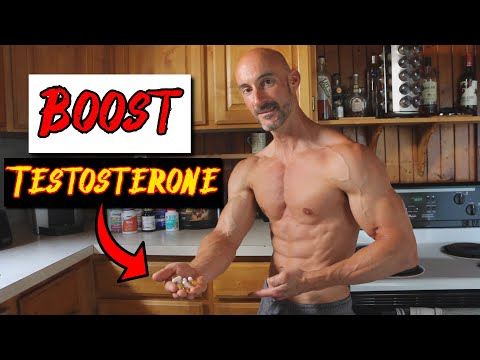 7 BEST Supplements For Men Over 40 (Boost Testosterone and Hormone Health)