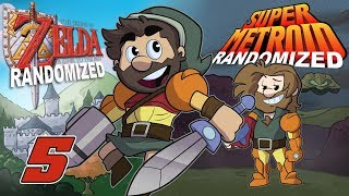 Super Metroid and A Link to the Past Randomized | Let's Play Ep. 5 | Super Beard Bros.