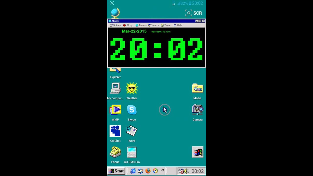 Windows 98 theme for Android - YouTubeWindows 98 theme for Android