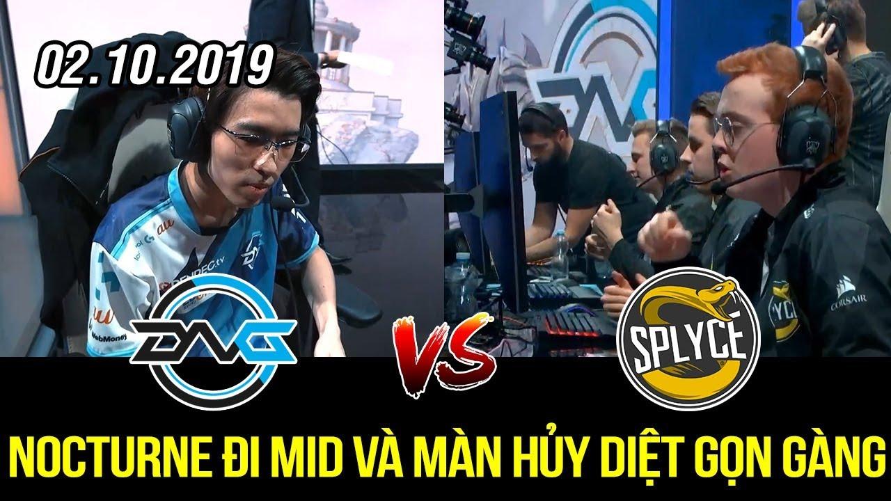 [CKTG 2019 Play-in] DFM vs SPY Highlights | Nocturne đi Mid, Ekko đi Rừng và bị hủy diệt quá tởm