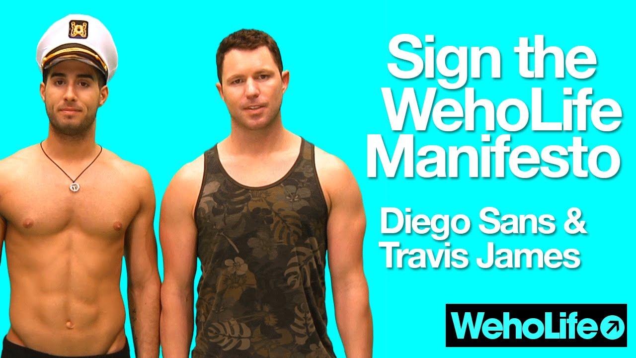 james Diego sans and travis