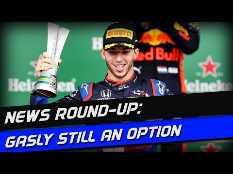 F1 News Round-Up: Gasly Still A Future Red Bull Option