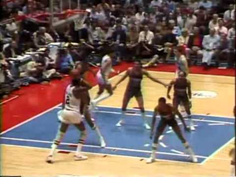 NBA Greatest Trios: Malone, Erving & Toney vs Bucks (1983 ECF Game 5)