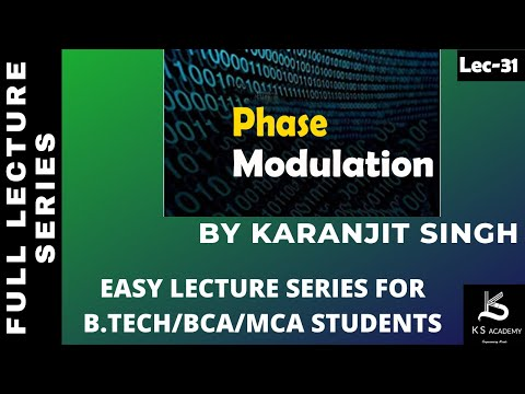 PHASE MODULATION||BTECH||COMMUNICATION SYSTEM||PART 30