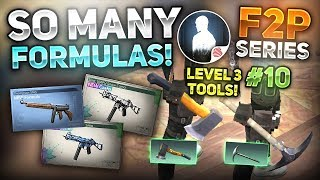 FORMULA ROLLING! UNLOCKING LEVEL 3 TOOLS! - NOOB TO PRO #10   F2P SERIES - LifeAfter
