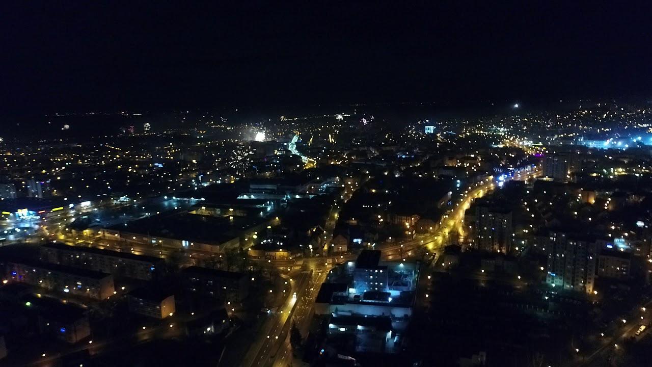 Przywitanie Nowego 2018 Roku Okiem Drona