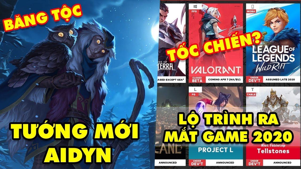 Update LMHT: Lộ diện tướng mới Aidyn thuộc Băng Tộc – Rò rỉ lộ trình phát hành game 2020 của Riot