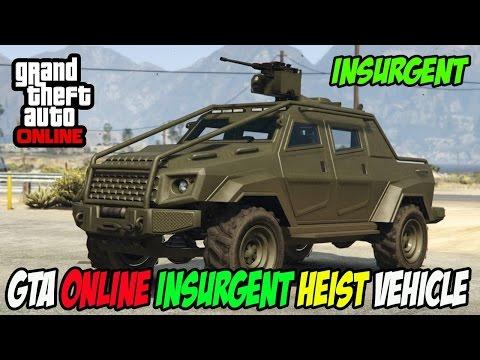 GTA Online Insurgent Heist Vehicle Gameplay Montage PS4