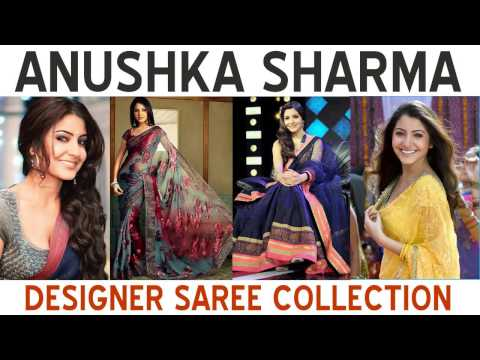Anushka Sharma Designer Saree Blouse Collection