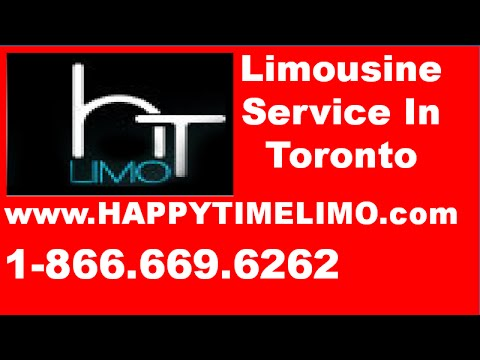 Limousine Service Toronto - Why Use Limousine Service Toronto To & From the AIrport
