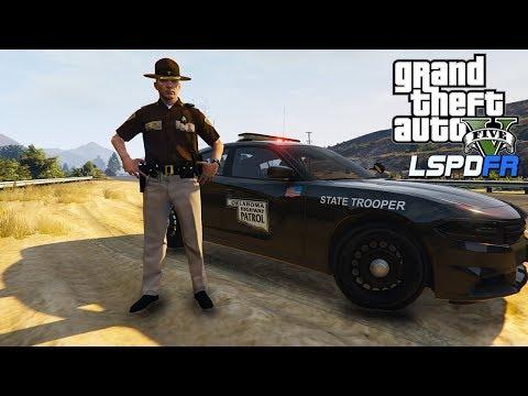 BROADCASTING LIVE POLICE RADIO Oklahoma (GTA 5: LSPDFR GAMEPLAY)