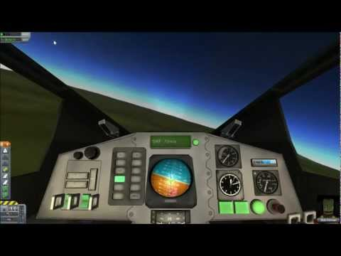 Scott Flies a Spaceplane Designed By.... His Dad - Kerbal Space Program
