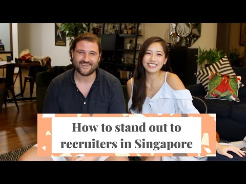 How to get a job in Singapore 🇸🇬 Talking to Recruiters (Part 2)