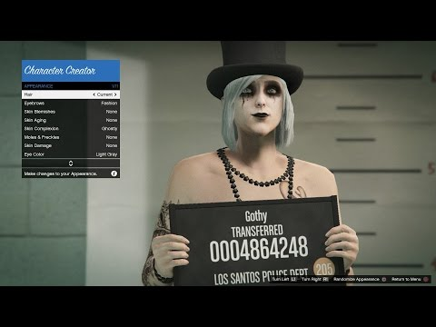 GTA ONLINE how to change sex and appearance of your character PS3,PS4,XBOX 360 and XBOX One