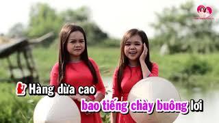 TÌNH THẮM DUYÊN QUÊ l Karaoke Thanh Hằng ft Thanh Hà