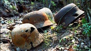 GERMAN SOLDIERS LIVED HERE / WW2 METAL DETECTING
