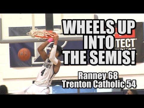 Ranney 68 Trenton Catholic 54 | Non Public B South 2nd Rd | Phil Wheeler 16 points