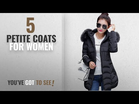Top 10 Petite Coats For Women [ Winter 2018 ]: Mojessy Women's Parka Winter Coat Overcoat Long Down