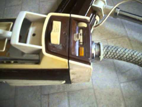 Brown Vintage Electrolux Canister Vacuum Cleaner 1401 B