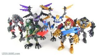 "Lego Chima ""ultrabuild"" 2013 Figures Summary"