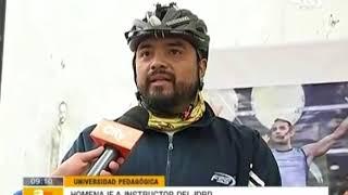 Bicihomenaje a Jeisson Alejandro Cárdenas Pinzón - Citytv