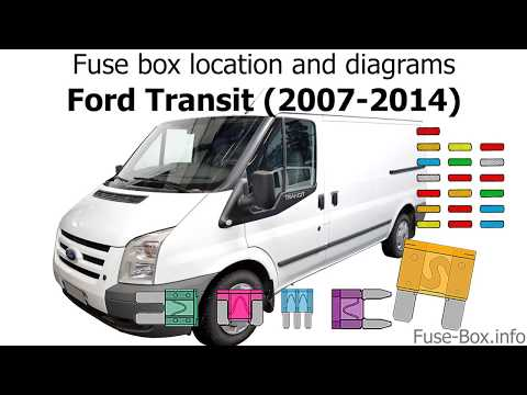 Fuse box location and diagrams: Ford Transit (2007-2014) - YouTubeYouTube