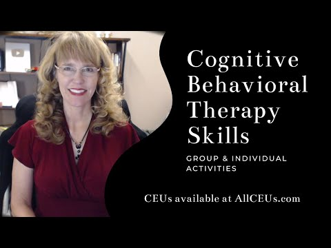 Cognitive Behavioral Therapy Skills: Counselor Toolbox Episode 105
