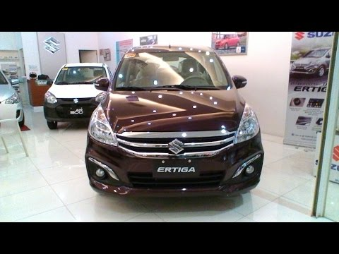 Suzuki Ertiga GLX Automatic Transmission Review - Burgundy Red