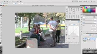 Урок Adobe Photoshop КА ШАГ. Тема: Цветовая коррекция Curves