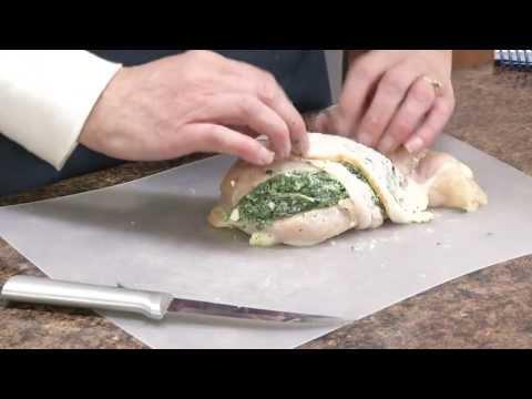 Feta and Spinach Stuffed Chicken Breast Recipe | RadaCutlery.com